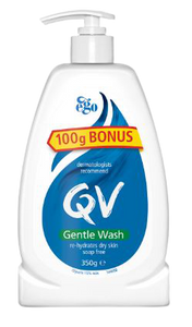 QV Gentle Wash 350g Pump, Each