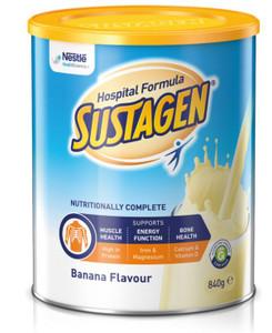 Sustagen Hospital Formula ACTIVE Banana 840gm, Each