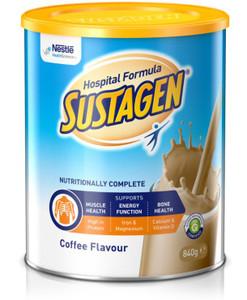 Sustagen Hospital Formula ACTIVE Coffee 840g, Each