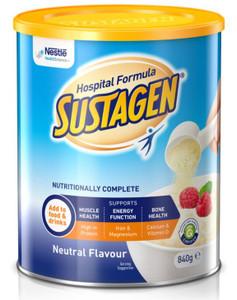 Sustagen Hospital Formula ACTIVE Neutral 840g, Each