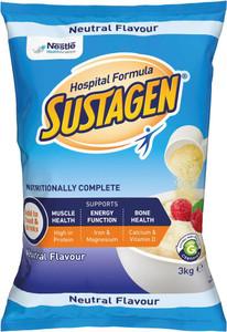 Sustagen Hospital Formula ACTIVE  Neutral 3Kg, Bag