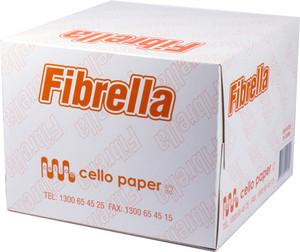 Fibrella Wipe White Box/75
