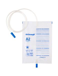 Urimaax Drainage Bag B/Drain Push-Pull A2 2000mls Sterile, Each