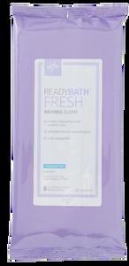 ReadyBath Fresh Standard Fragrance-Free Bathing, Cloth 20cm x 20cm, Pack/8