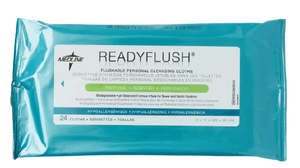 Remedy Wipes Flushable Scented 23cm x 33cm, Pack/24