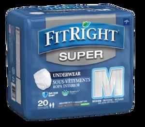 FitRight Super Pullup Pant Medium, Pack/20