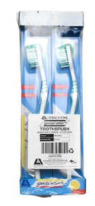 Seasonal Toothbrushes Spring Green,  Adult, Soft,   Pack/12