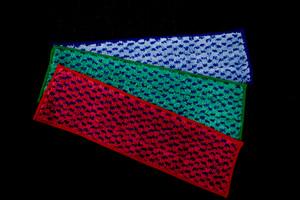 Microfibre Mop, Chess Pattern, Green, 12x41/44cm