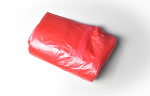 Complete Soluable Seam/Tie Laundry Bag Red 25s 990x710mm