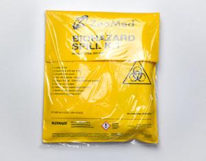 Zeomed Biohazard Spill Kit Yellow Each