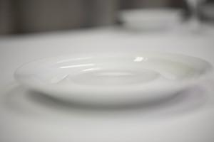 Saucer, White, Fits both Coffee Mug and Tea Cup, Carton 96 pcs