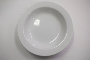 Pasta Plate, White, Carton 36pcs,  Diameter 22.7cm Height 4cm