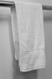 Hand Towel, 40x80cm 500gsm, White, Carton 90pcs