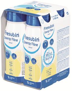 Fresubin Energy Fibre Drink 200ml Easy Bottle Vanilla, Pack/4