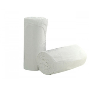 36L Bin Liners,50 pcs per roll,  White, Each