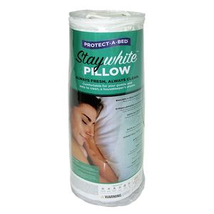 Stay White Pillow, Water Proof, Wipe Clean Surface, Each