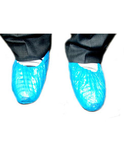 S&M Plastic Overshoe Covers Pack/100