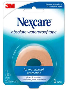 3M Nexcare Absolute Water Proof Tape 25mm x 4.5m, Roll