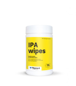 IPA Wipes 42x14cm Cannister 75