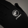 Chiba Polar Fleece Thermal Winter Gloves in Black All Sizes