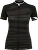 Funkier Prima Pro Ladies Short Sleeve Jersey in Black-Wave