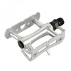 Wellgo R110 Single Sided Rat Trap Pedals In Silver
