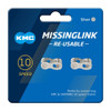 KMC Missing Link 10 Speed Chains - Shimano Pack of 2
