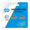 KMC Missing Link 7/8 Speed Chains - Shimano & Sram