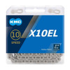 KMC X10EL Silver Extra Light 10 Speed Chain