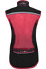 Funkier Cobina Ladies Windbreaker Gilet | Black/Pink | WV-1511