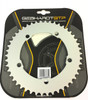 """Gebhardt 1/8"""" Track Chainring Silver 130mm BCD"""