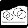 Lezyne GPS O-Ring Set In Black