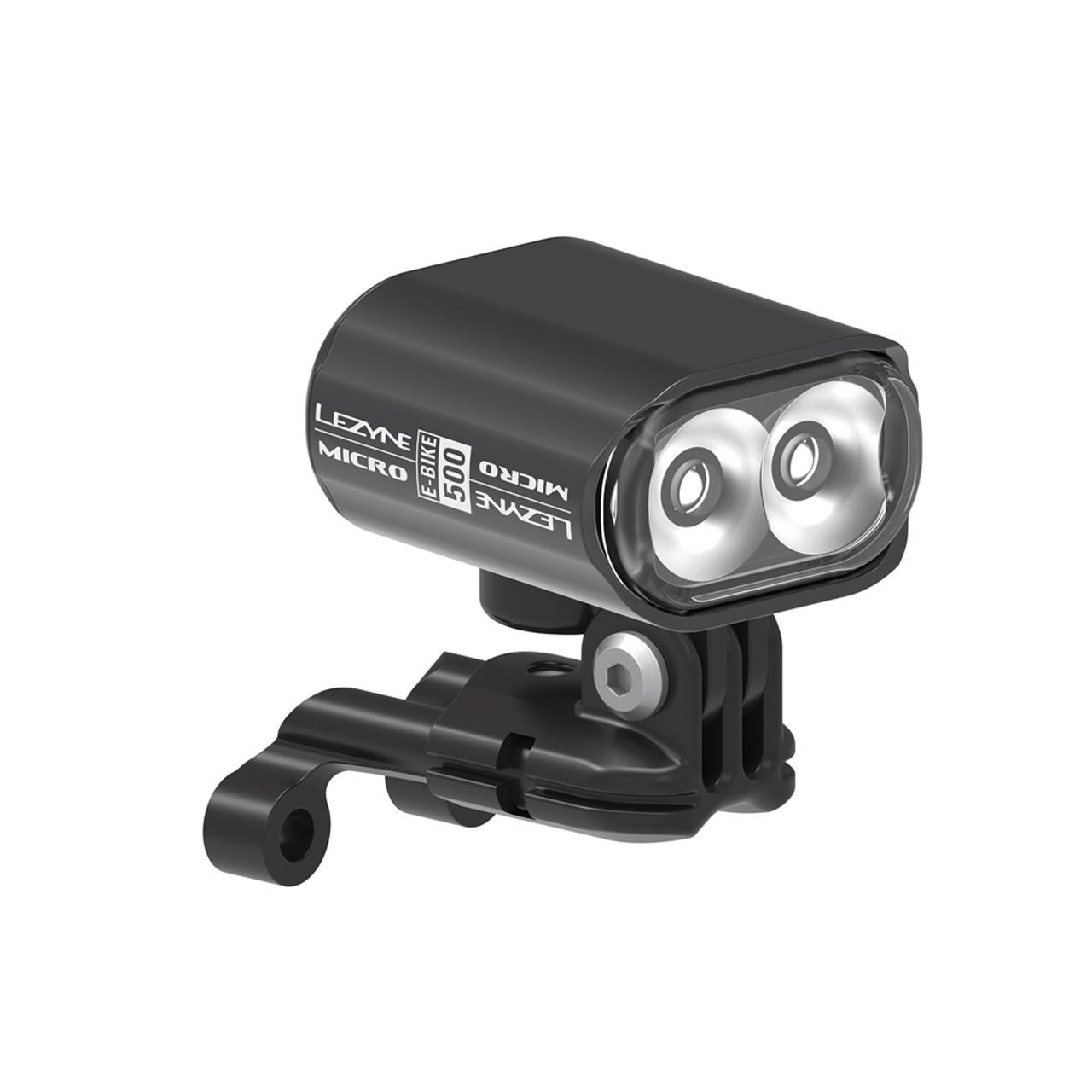 Lezyne E-Bike Micro Drive 500 Front Light In Black