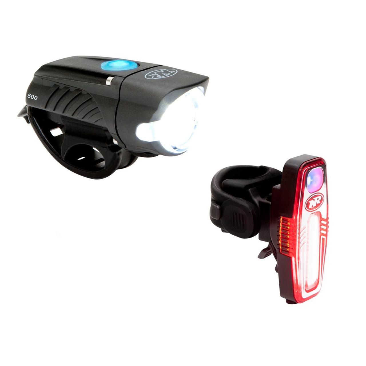 Niterider Swift 500 Front Light / Sabre 110 Rear Light Set