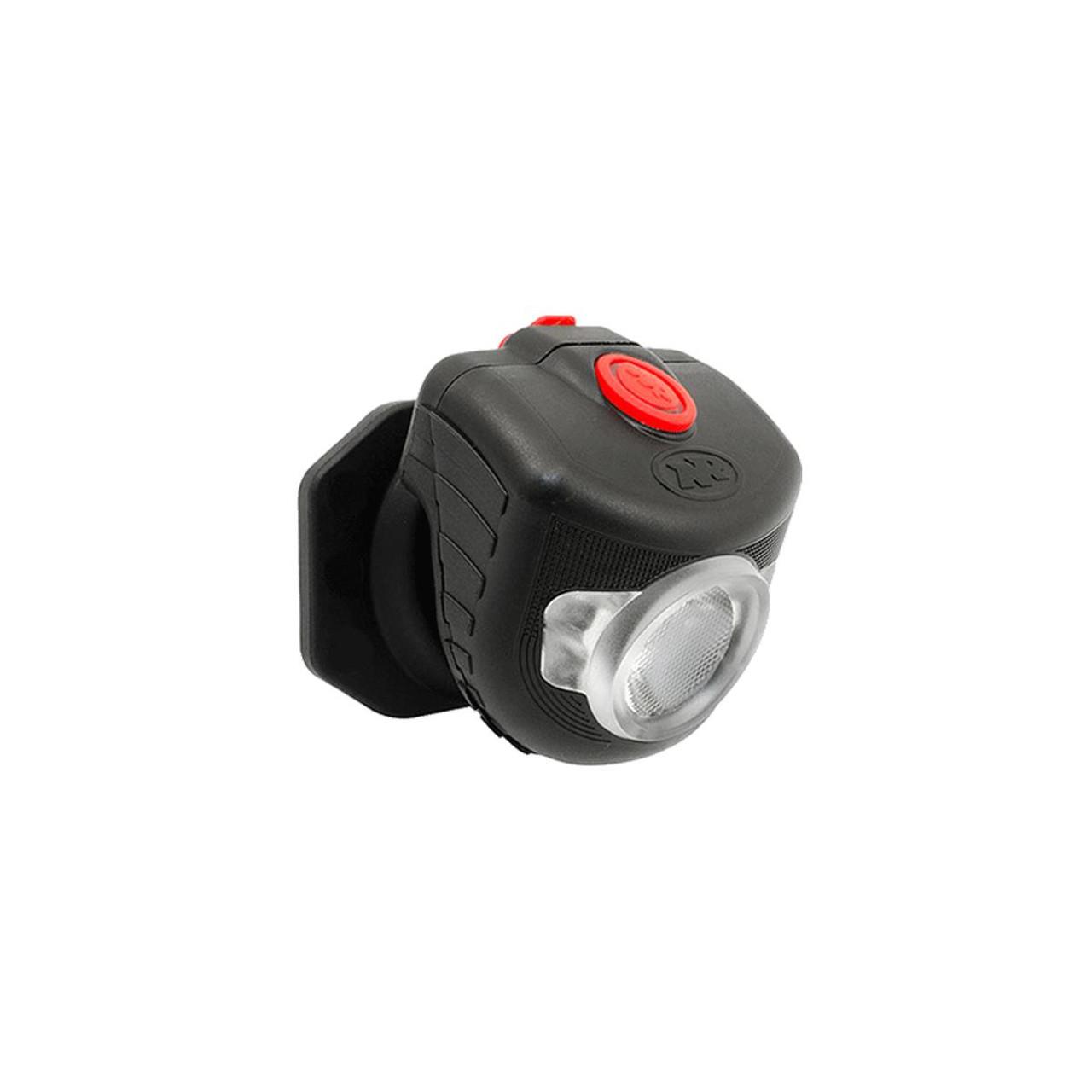 NiteRider Adventure 320 Pro LED Headlight with Helmet Stick On Pivot Mount