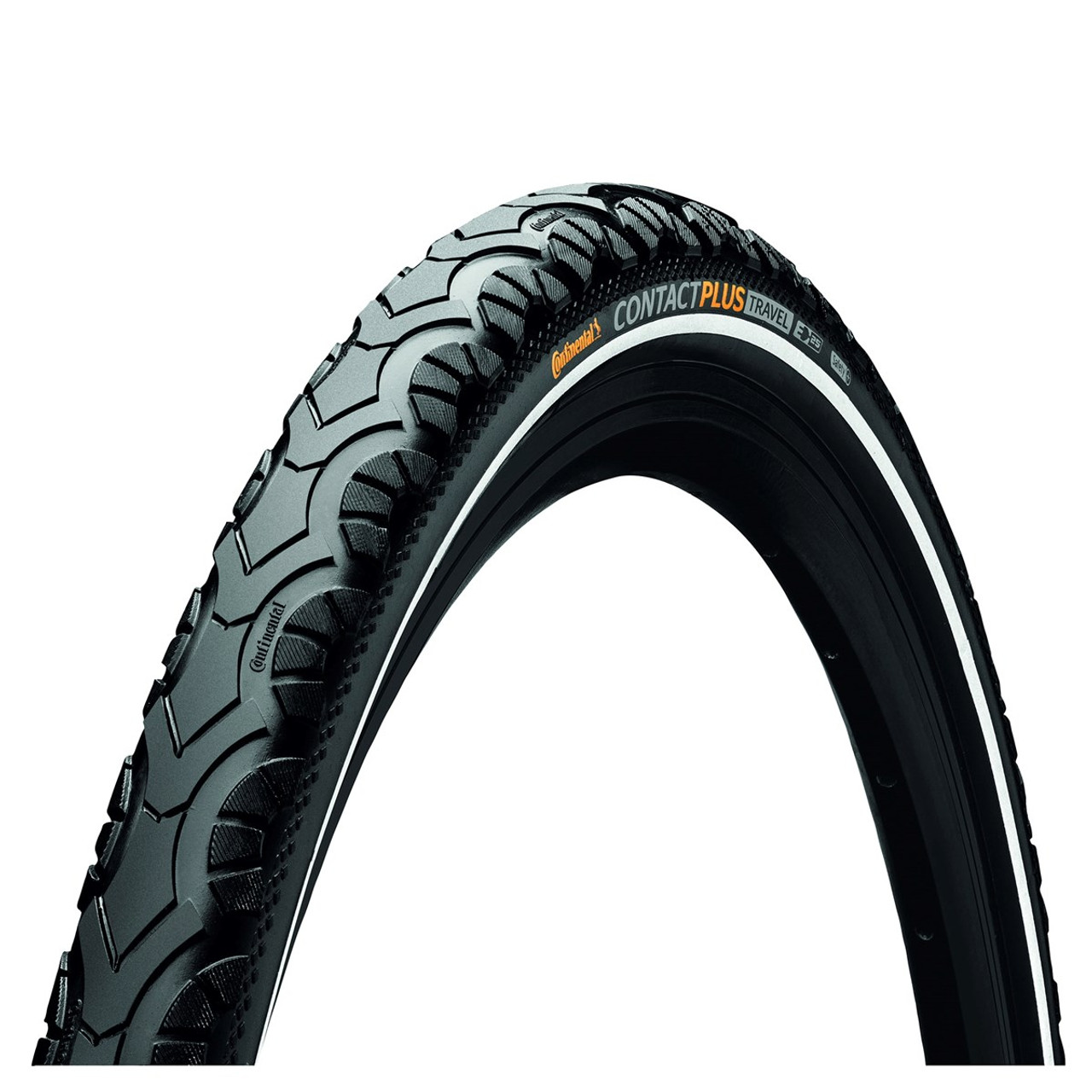 Continental Contact Plus Travel Wired Tyre Black/Reflex