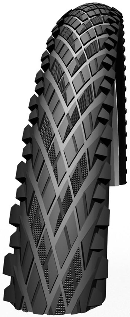 Impac Crosspac Hybrid Semi Slick Rigid Tyre in Black