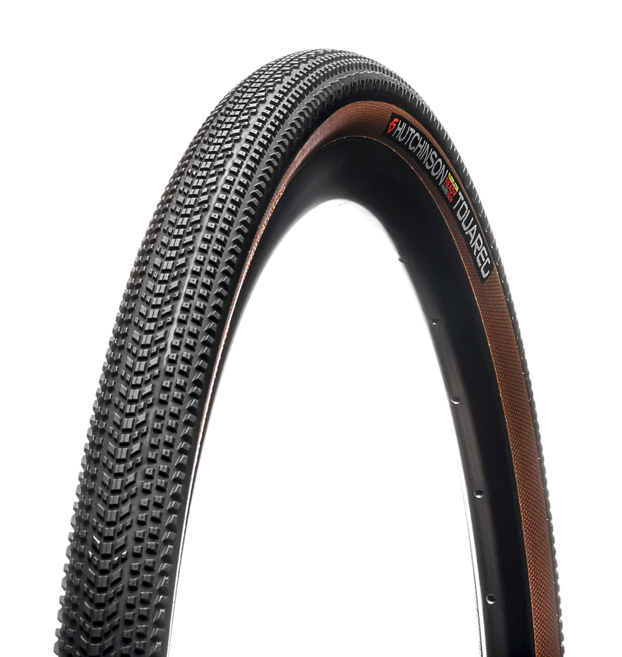 Hutchinson Touareg Tubeless Ready Gravel Tan Wall Tyre 650 x 47