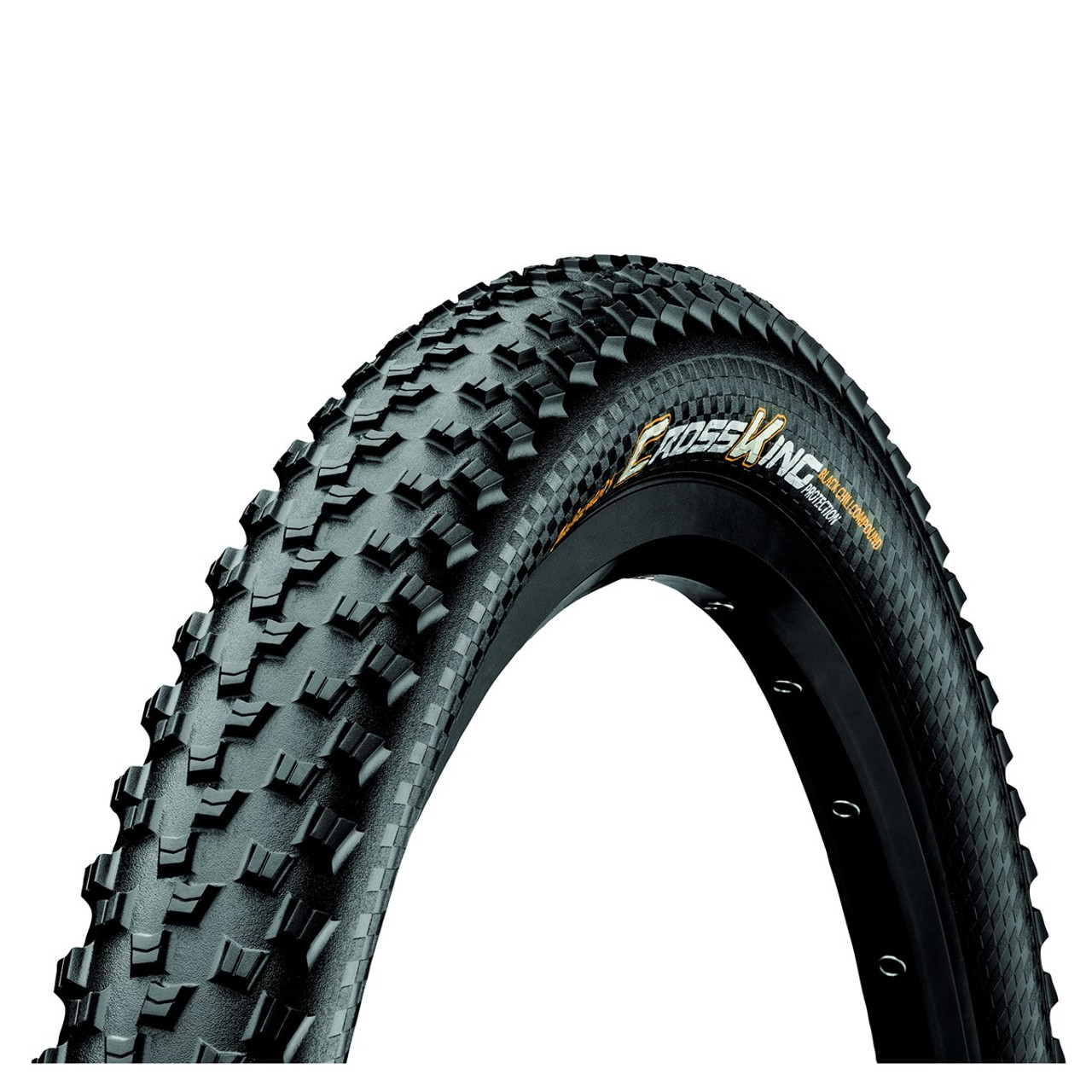 Continental Cross King BlackChili ProTection Tubeless Ready Folding Tyre Black All Sizes