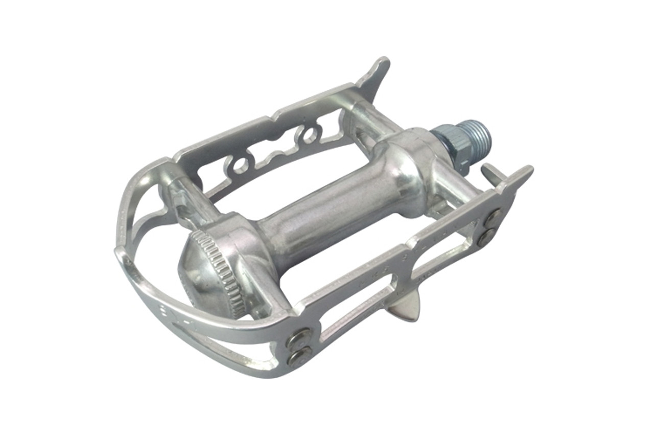 MKS Sylvan Road Pedals With CR-MO Axle In Silver