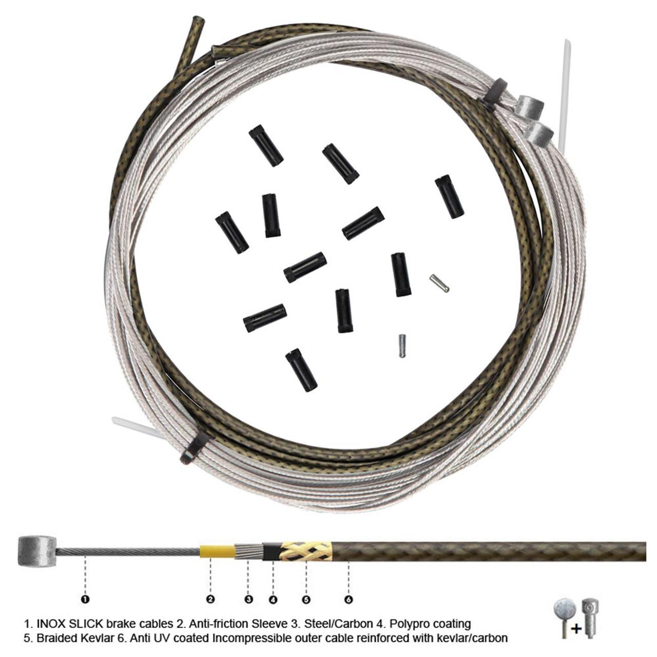 Transfil Flying Snake Ultra Light Brake Cable Set