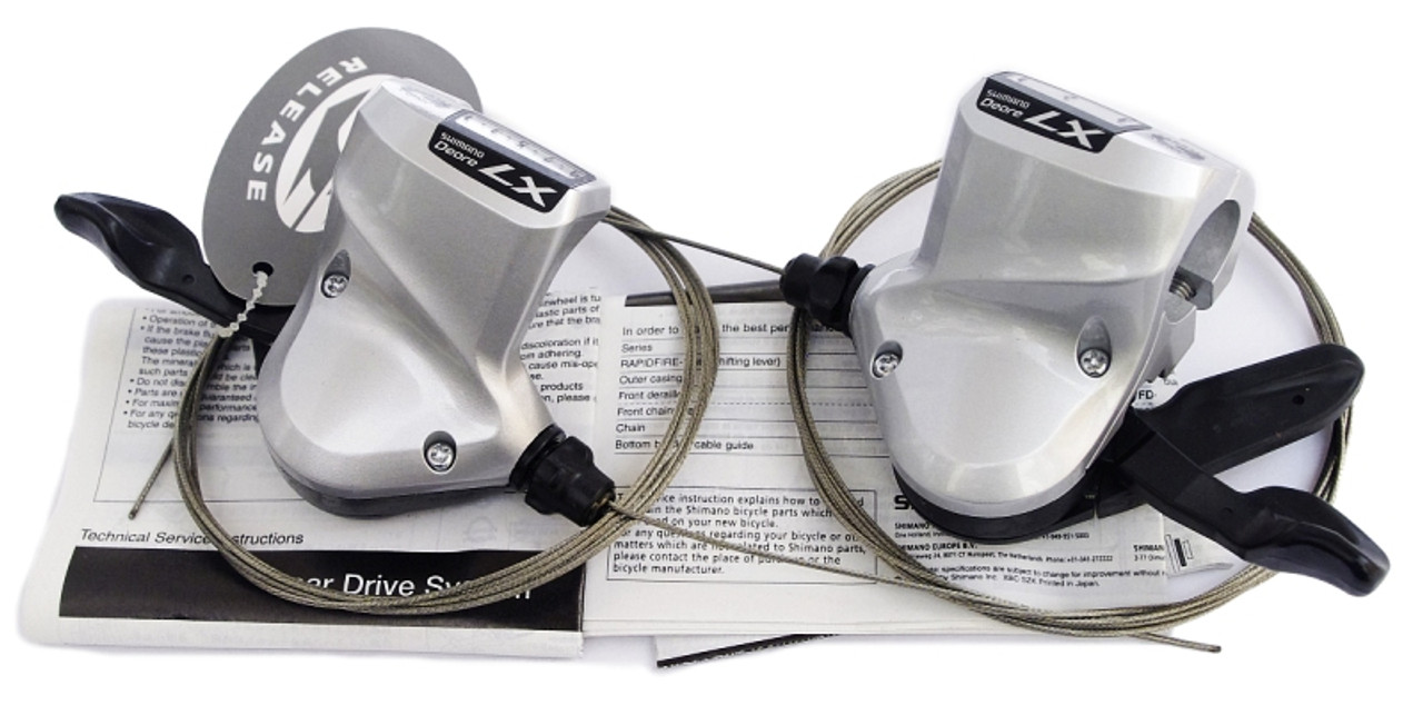 Shimano LX SL-T660 Retro Rapid Fire Triple 9 Speed MTB Shifters