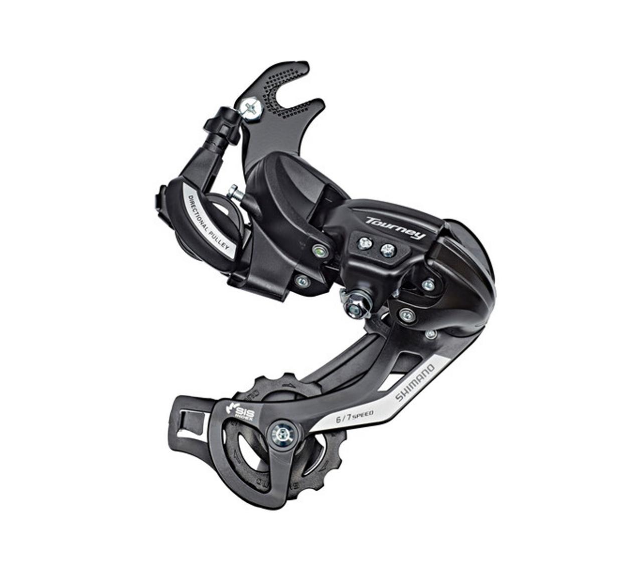Shimano Tourney TY500 6/7 Speed Axle Mount Rear Derailleur In Black