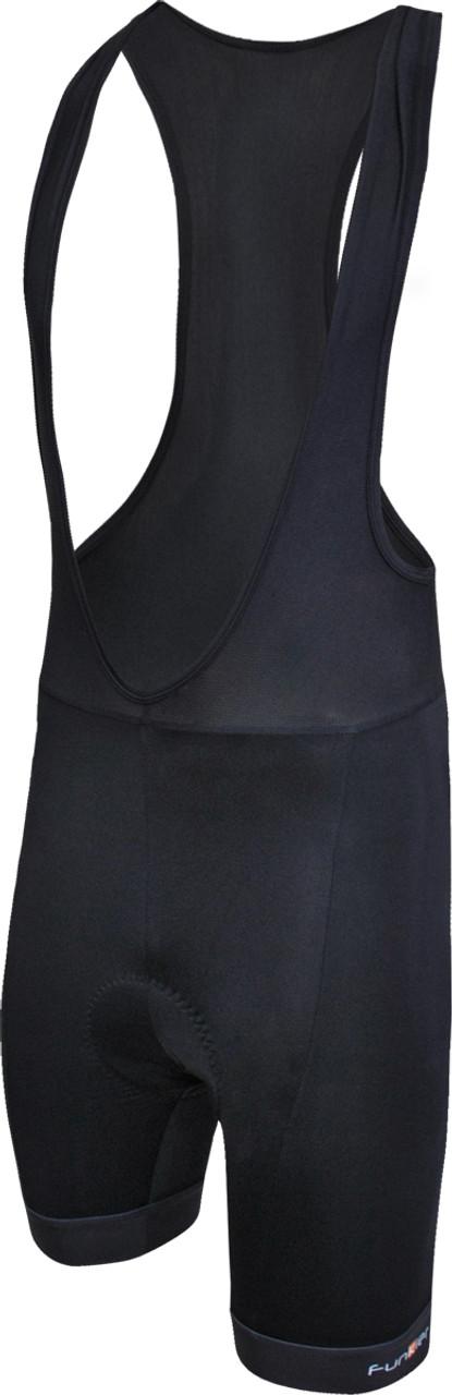 Funkier Apex-Gel II 15-Panel Gel Bib Shorts in Black
