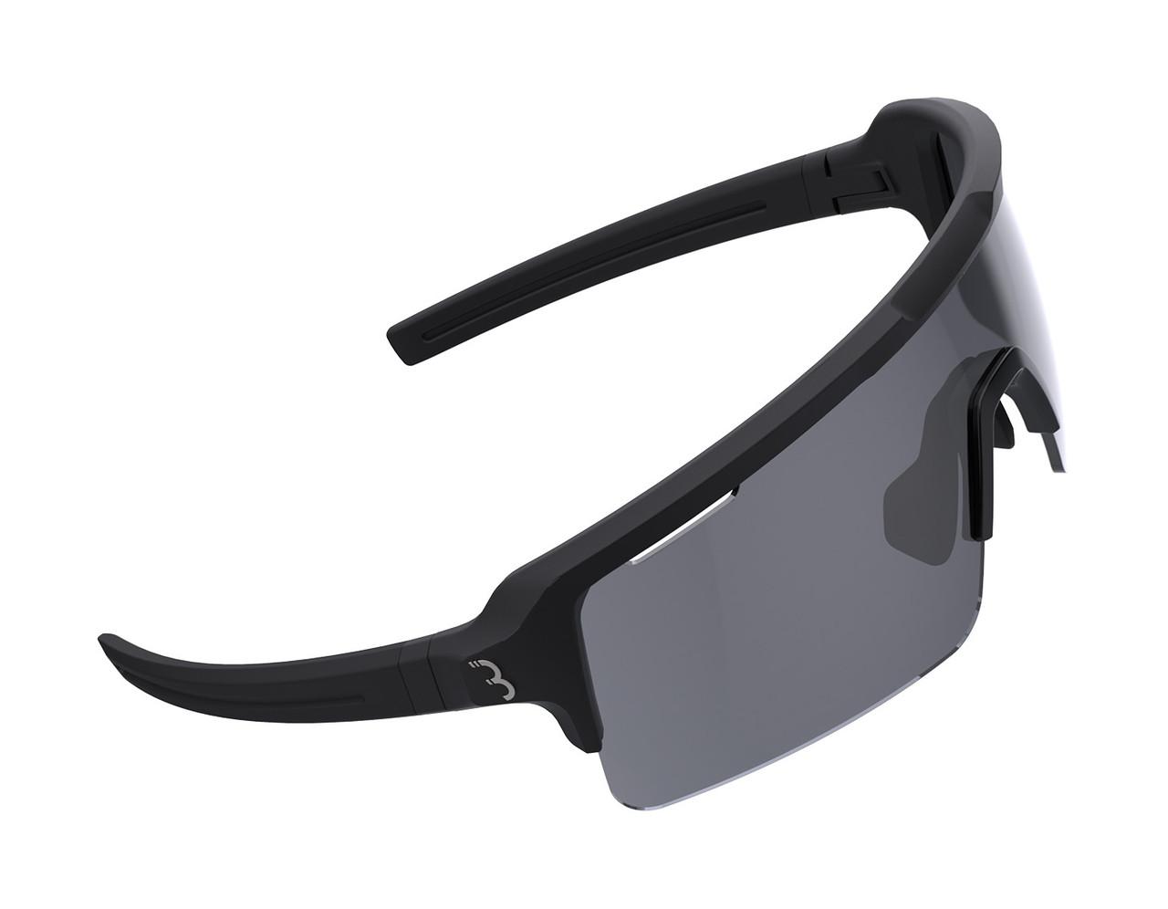 BBB Fuse Sport BSG-65 Sunglasses Matte Black / Smoke Lens RRP £64.99