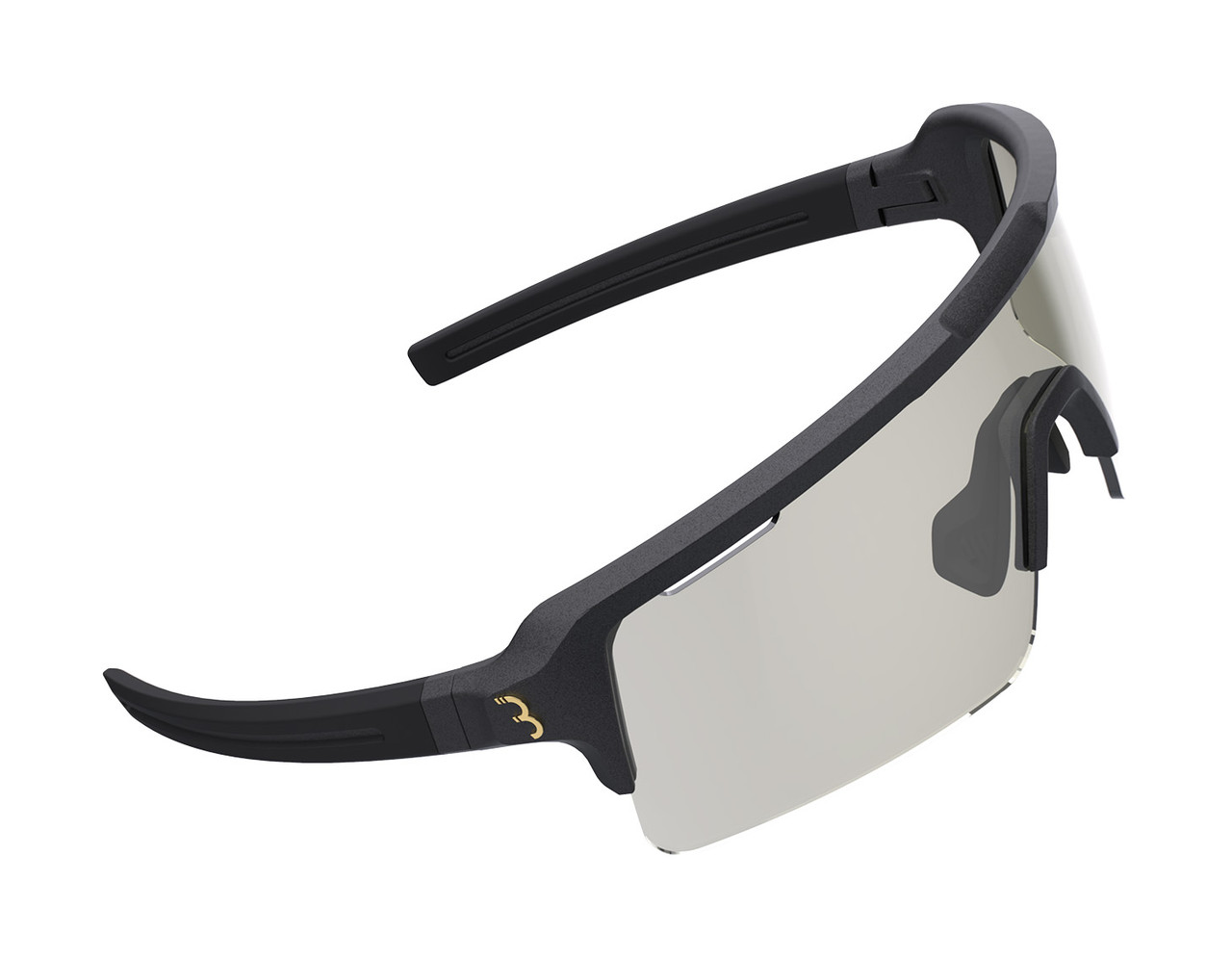 BBB Fuse Sport BSG-65PH Sunglasses Matte Metallic Black/Photochromic Lens RRP £89