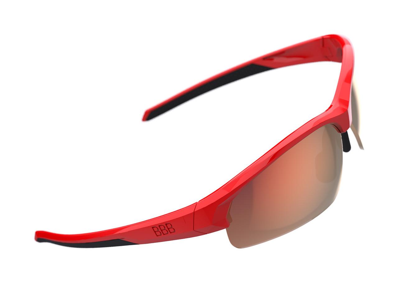 BBB Impress Small Sport BSG-68 Sunglasses Red / Red MLC Lens