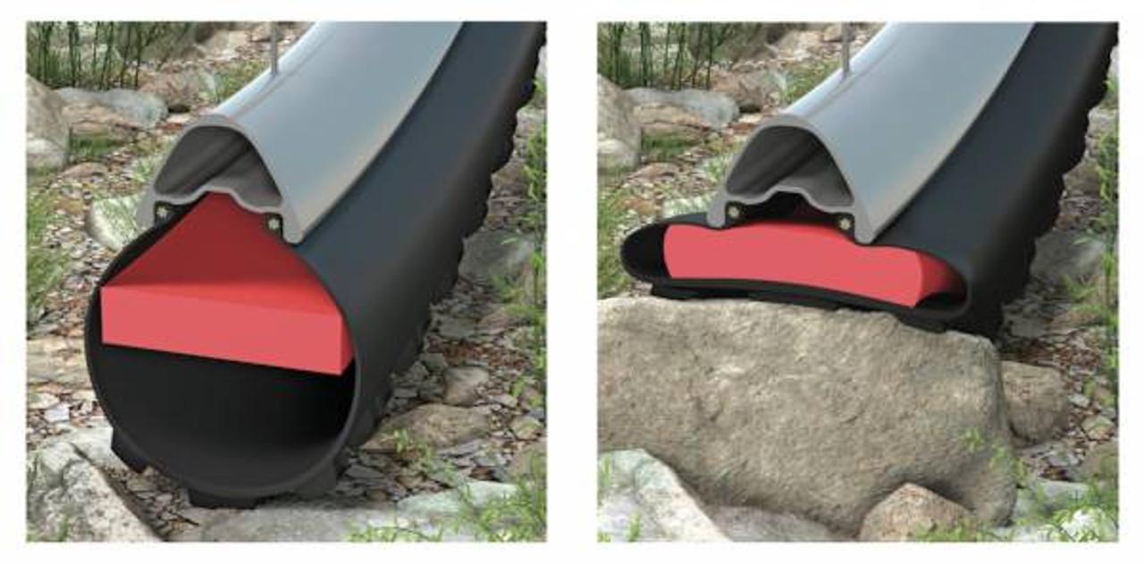 Effetto TyreInvader 50 x2 Rim Ext 22-28mm / 2.1-2.4 Tyre Tubeless Anti Pinch Flat Tyre Insert