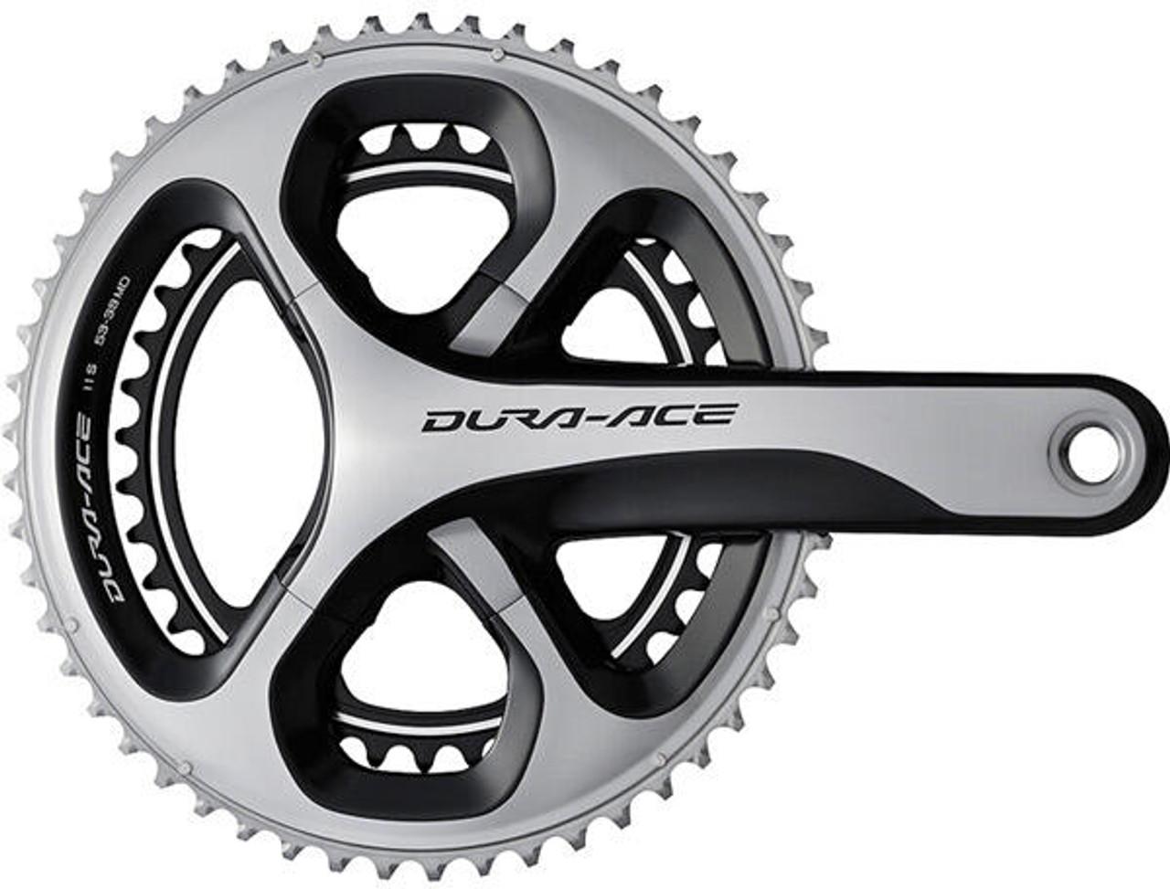 Shimano Dura Ace 9000 11 Speed Double Chainset 172.5mm 39/53