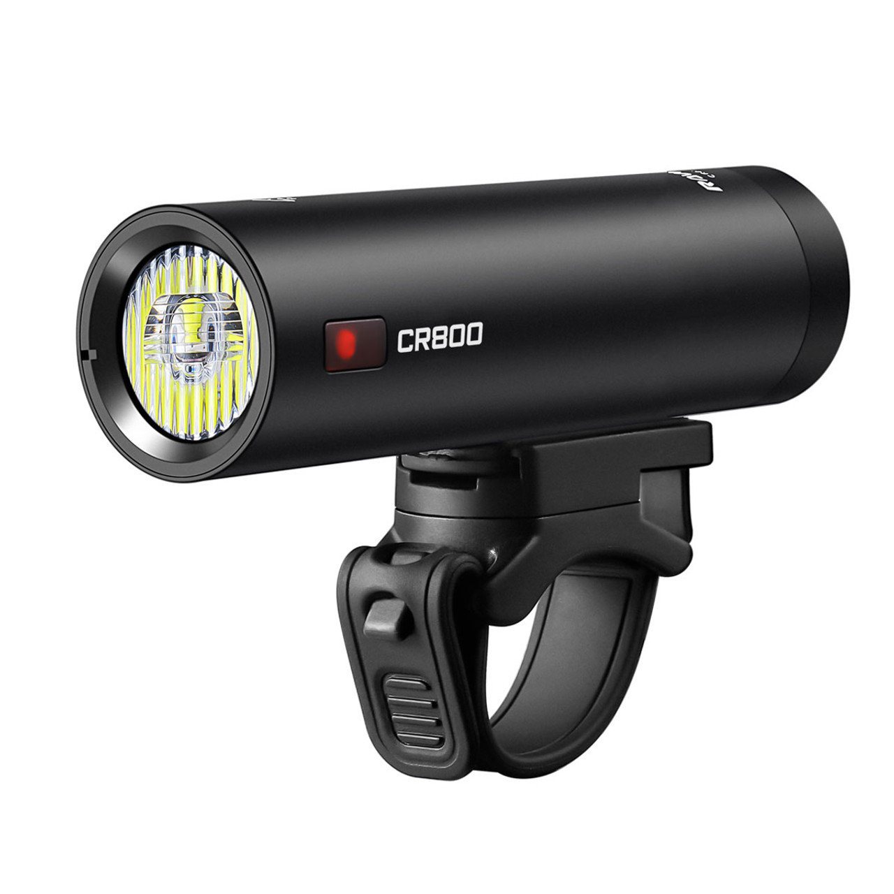 Ravemen CR800 USB Rechargeable T-Shape Anti-Glare Front Light with Remote in Matt/Gloss Black RRP £64.99